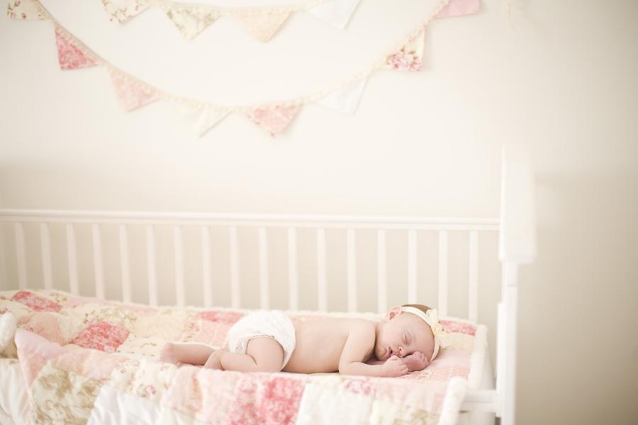 Pink And Cream Baby Nursery Tonya Peterson Photography